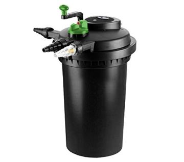 Aqua-Tech Teichfilter 15000 Druckfilter + UV 24W 15000 Liter -