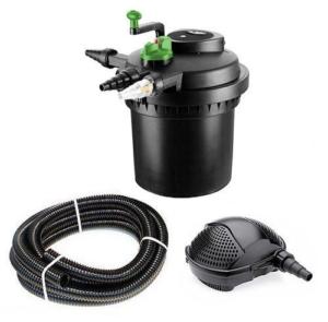 Teichfilter Aqua-Tech - Druckfilter 5000 UV Pumpe PondoMax 2500