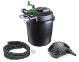 Aqua-Tech Teichfilter Set 20000 Druckfilter UV Pumpe PondoMax 8000 -