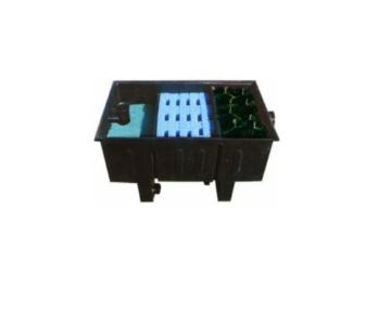 AquaForte 23000 Mehrkammerfilter Specialist, schwarz, max. Teichgröße 23m³, max. Durchfluss 6,8m³/h -
