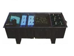 AquaForte 34000 Mehrkammerfilter Specialist, schwarz, max. Teichgröße 34m³, max. Durchfluss 10m³/h -