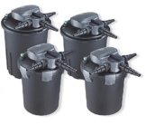 AquaForte Druckfilter BF6000 inkl. 9W UVC, max. Teichgröße 8m³, max. Durchfluss 4m³/h -