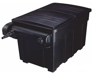 AquaForte Mehrkammerfilter 18000 inkl. 36W UVC, max. Teichgröße 18m³, max. Durchfluss 7,5m³/h -
