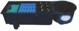 AquaForte Vortex 30000 Mehrkammerfilter, schwarz, max. Teichgröße 30m³, max. Durchfluss 9m³/h -