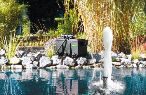 T.I.P Mehrkammer-Teichaußenfilter PTS 24000 UV, Schwarz, bis 24000 Liter -