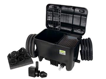 T.I.P. Teichaußenfilter WDF 10000 UV 11, UV-C 11 Watt, für Teiche bis zu 10.000 Liter -