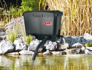 Teichfilter T.I.P. - WDF 20000 UV 18, UV-C 18 Watt, für Teiche bis zu 20.000 Liter -