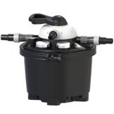 Velda 126310 Druckfilter für Teiche bis 10.000 Liter inkl. 9 Watt UV-C, Clear Control 25 + UV-C, 126310 -