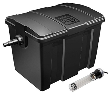 Velda 126405 Durchflussfilter für Teich bis 20.000 Liter inkl. 18 Watt UV-C, Giant Biofill XL -