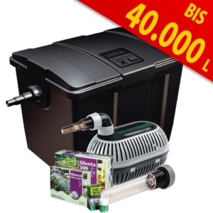 Teichfilter Velda 126407 Durchflussfilter für Teich bis 40.000 Liter inkl. Pumpe, 36 Watt UV-C, Giant Biofill XL Set 12000 -