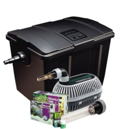 Velda 126407 Durchflussfilter für Teich bis 40.000 Liter inkl. Pumpe, 36 Watt UV-C, Giant Biofill XL Set 12000 -
