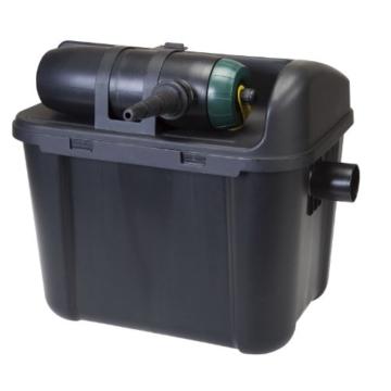 VT 146001 Filter-Set für Teichvolumen bis 3000 Liter, Mit Pumpe, Schlauch, UV-C Filter 5 Watt, Starter Filter-Set 3000 -