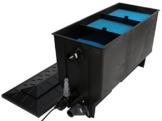 XClear Filter 3-Kammer Filter, 220 L, max. Teichgröße 8m³, max. Durchfluss 4m³/h, inkl. 40W UV-C -