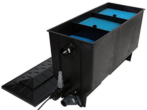 Teichfilter aquaforte xclear filter 3 kammer filter for Teich fische ohne filter