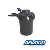 AKWADO Druckfilter CPF-10000 inkl. 11 Watt UVC Klärer für Teich Koi usw. -