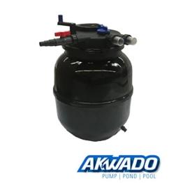 AKWADO Druckfilter CPF-50000 inkl. 55 Watt UVC Klärer für Teich Koi usw. -
