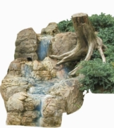 Bachlauf Wasserfall Gartenteich Bachlaufschalen Set IV - 1