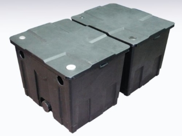 Bio Teichfilter 60.000l CBF 350 B Teiche Pond Filtersystem Koi Durchlauffilter -