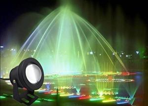 Teichbeleuchtung - COOLWEST RGB LED Unterwasserscheinwerfer