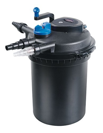 CPF-10000 Bio Druckteichfilter SELBSTREINIGEND incl. 11 Watt UV-C Einheit, Teichfilter, Teich, Filter, UVC -