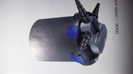OSAGA Druckfilter ODF-6000 mit 9 Watt UVC Lampe mit Rückspüleinrichtung -