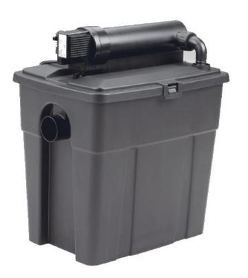 Pontec Teichfilter,Durchlauffilter PondoClear 4500 mit UVC-Vorklärer -
