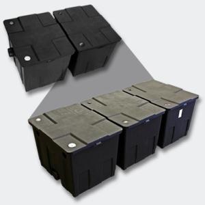 Teichfilter SunSun Bio 90000 L Durchlauffilter Upgrade Set 2 CBF-350C Teich Filter -