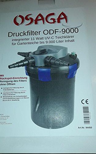 Teichfilter – Osaga – ODF-9000 mit 11 Watt UV-C -