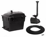 Teichfilterset Klarjet 5000 l - Komplettset inkl. UV-Licht und Pumpe -