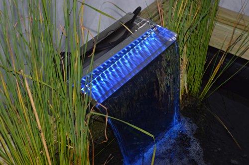 Ubbink Niagara Wasserfall LED - BLAUE Leuchteinheit 2014 (30 cm breite) - 4