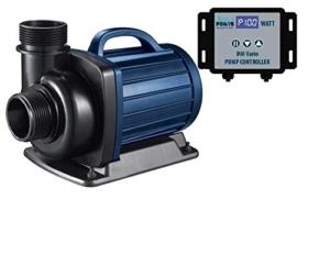 AquaForte Filter-/Teichpumpen DM-20000 Vario, 34-187W, Förderhöhe 7m, regelbar - 1