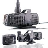 Filterpumpe bis 8000l/h Energiespar Eco- Teichpumpe Pumpe Bachlaufpumpe Koiteich - 1