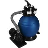 Sandfilter Sandfilteranlage 10 m³/h - Poolfilter Filteranlage Filterkessel - 1