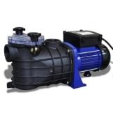 vidaXL Schwimmbadpumpe Umwälzpumpe Poolpumpe Pumpe elektronik blau 600W 90465 - 1